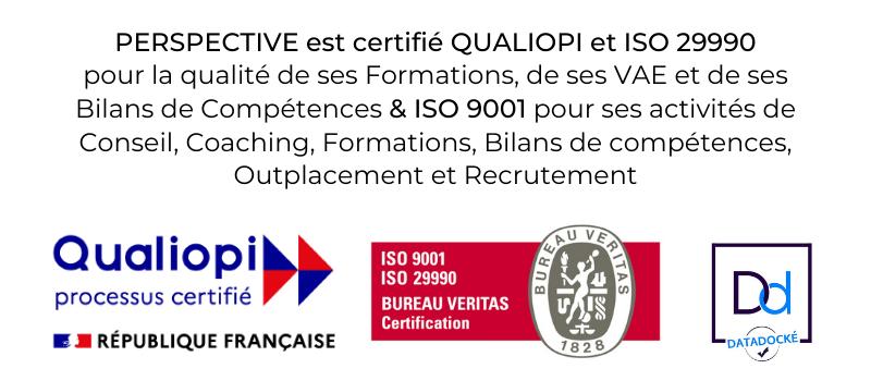 Bannière New - Certifications PERSPECTIVE 2021